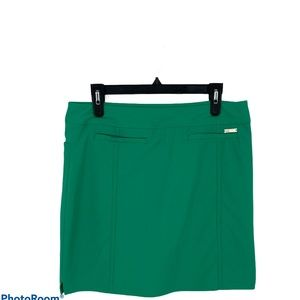 Adidas Golf skirt size medium green